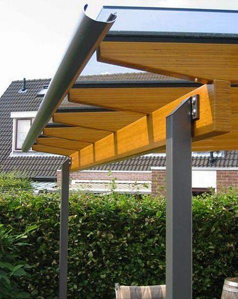 Terrassenüberdachung Holz Alu | Haloring